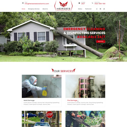 Heroes Restoration Inc.