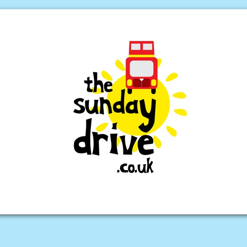 Create the next logo for The Sunday Drive