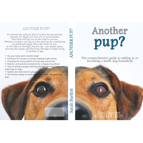 Cover for book about dogs
