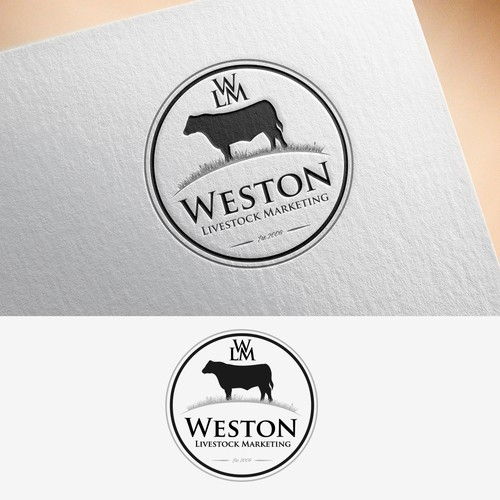 Winning Logo for Weston Livestock Marketing