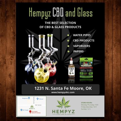 Future Marijuana Dispensary Flyer