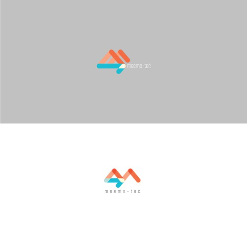 A logo design for health technology company.