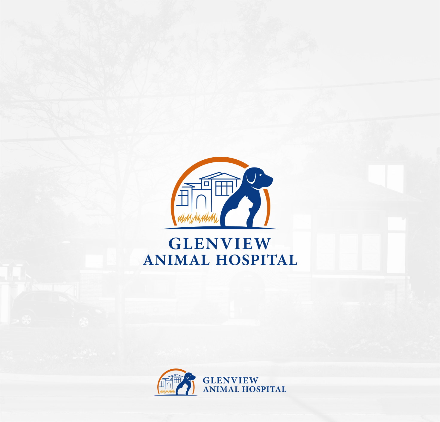 Design a new look for Glenview Animal Hospital