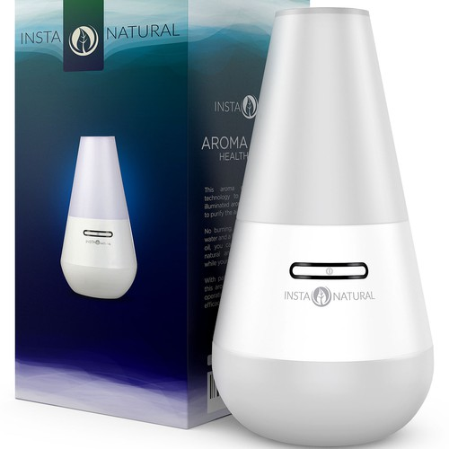 Aromatherapy Product 3D Rendering