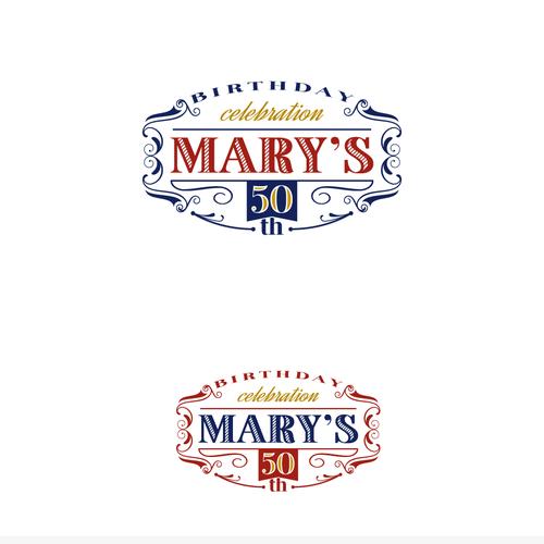 Bold and edgy logo for birthday celebration.