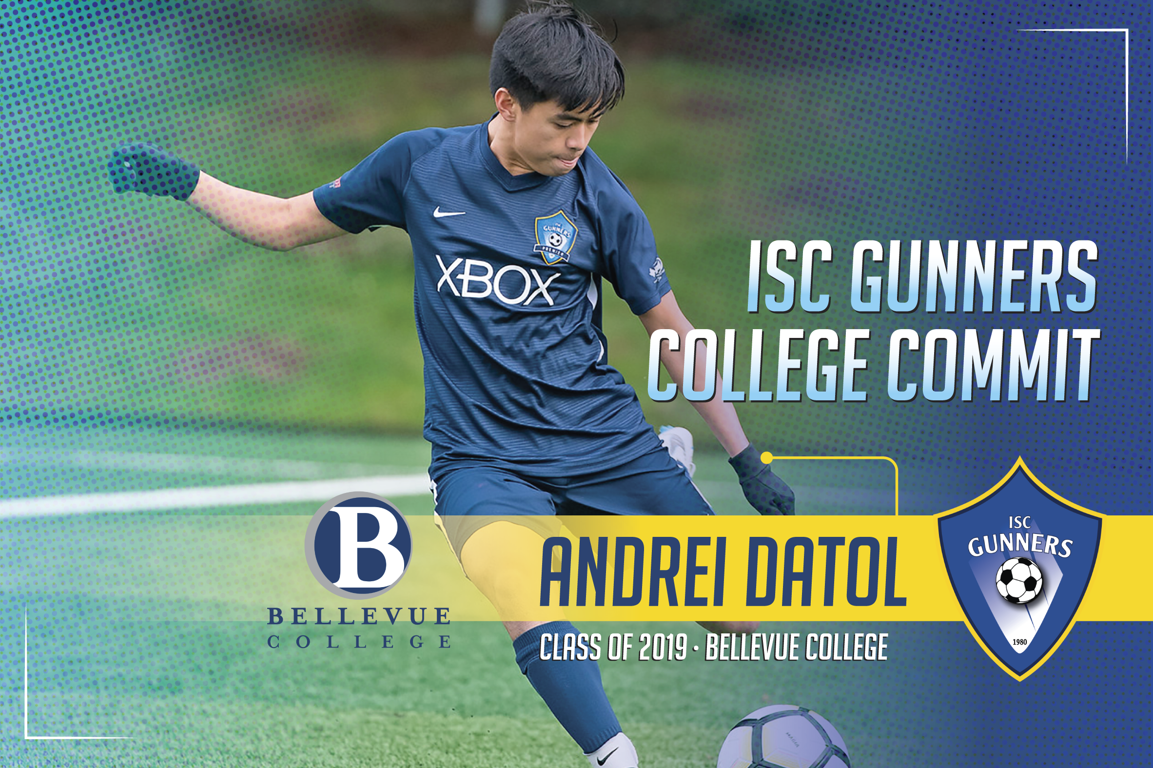 ISC Gunners College Commitments #5 (Only 1 x Graphic/Flyer)