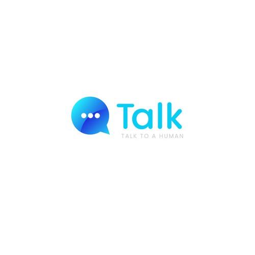 Talk to a Human Logo