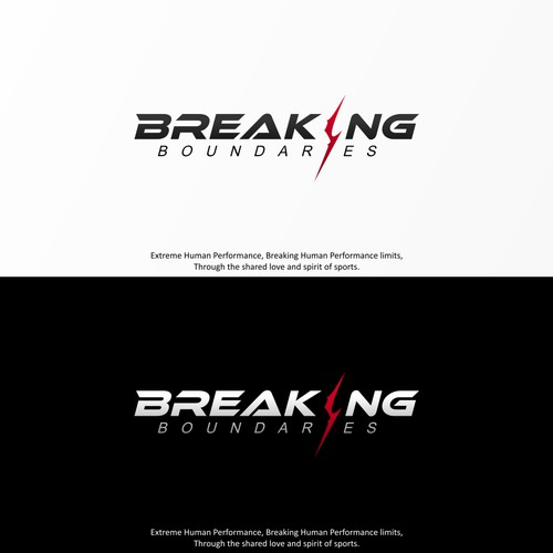 BREAKING BOUNDARIES Logo Design