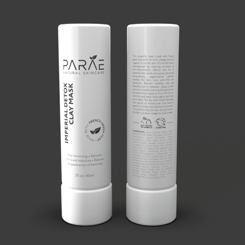 label design for Skincare Company