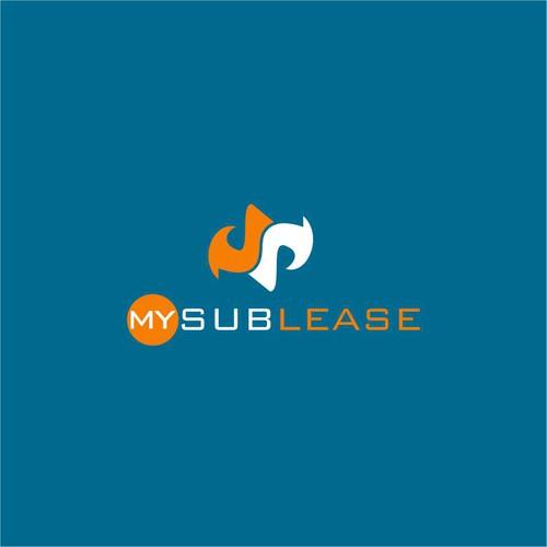 """My Sublease "" Logo design"