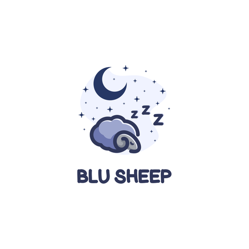 Logo concept for Blu Sheep