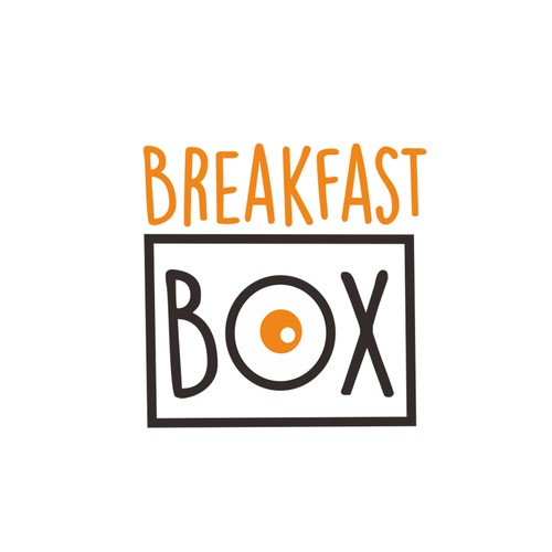 BreakFast Box logo design