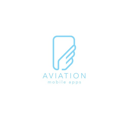 logo for aviation app