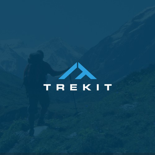 Trekit Logo Designs