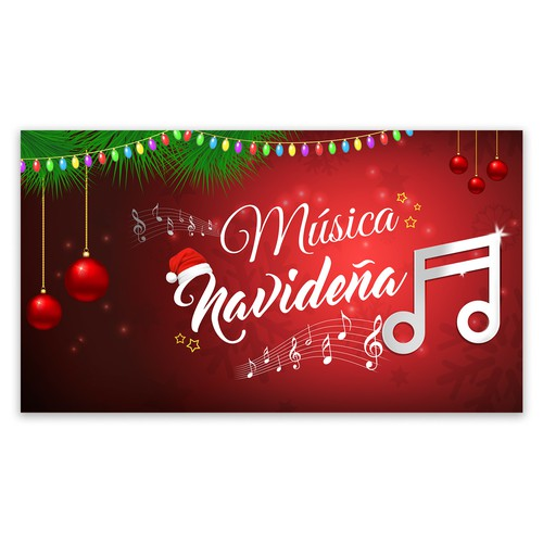 Christmas music video cover