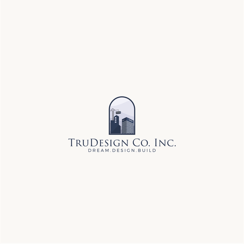Logo for comercial building company