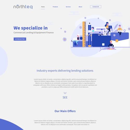 northteq Company Landing Page