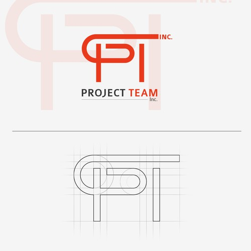 Create the next logo for Project Team Inc