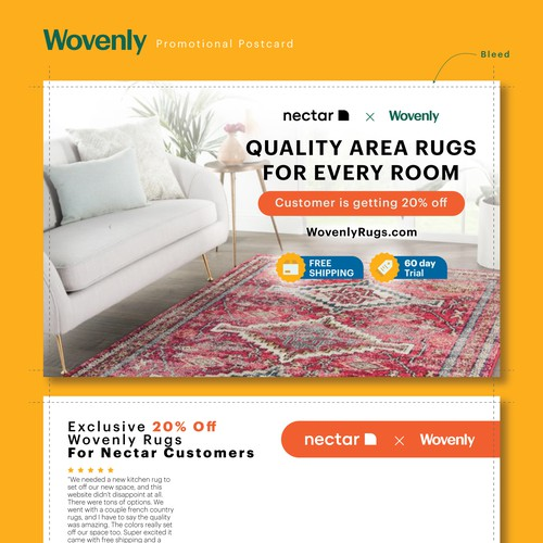 Postcard - Wovenly Rugs