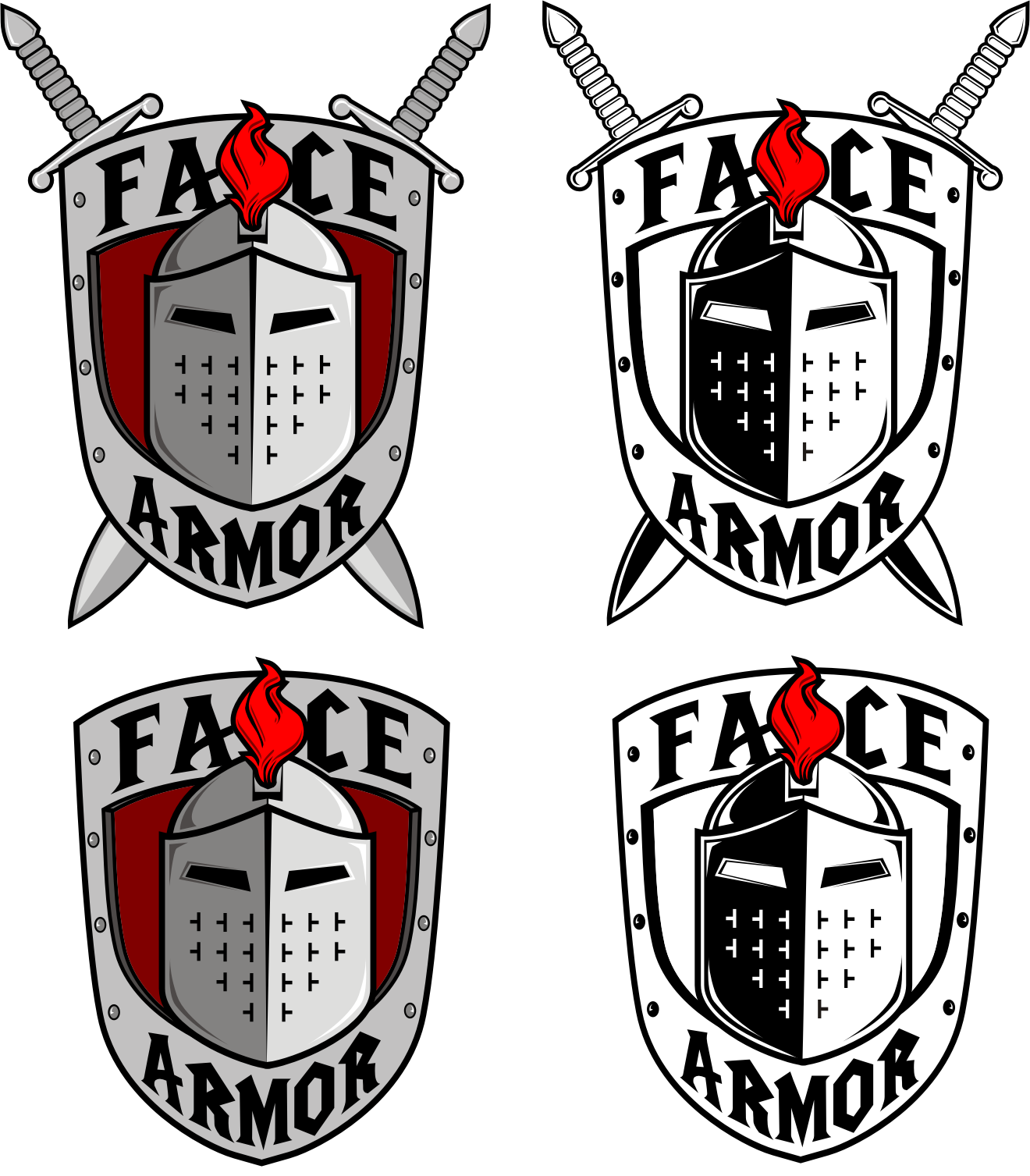 Help Face Armor with a new logo