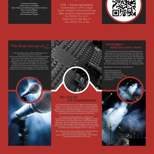 Erstelle eine visuelle Broschüre für den eventbereich