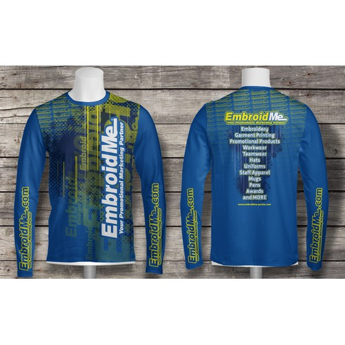 EmboidMe needs a cool shirt design