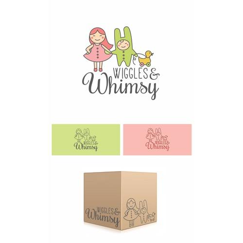 Logo design for Wiggles & Whimsy