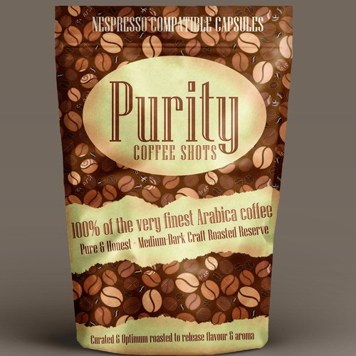 Coffee Pouch Design