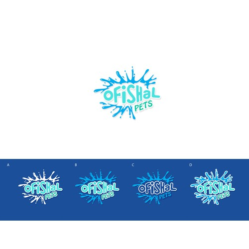 Design a fun, fresh logo package for aquarium pet store