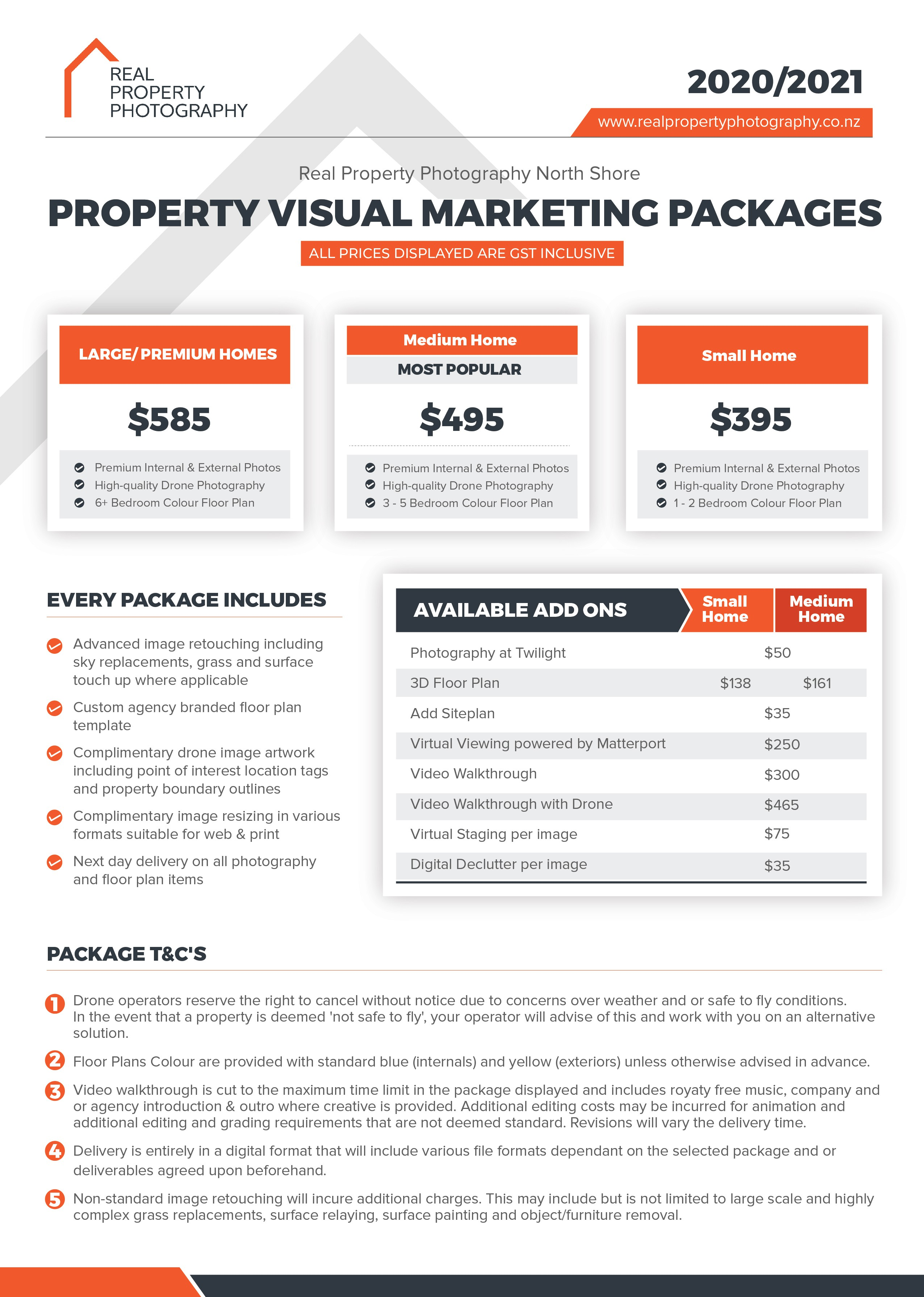 Redesign a Price List for Visual Appeal