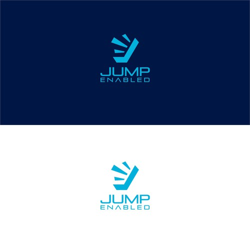 Jump Enabled Logo Design