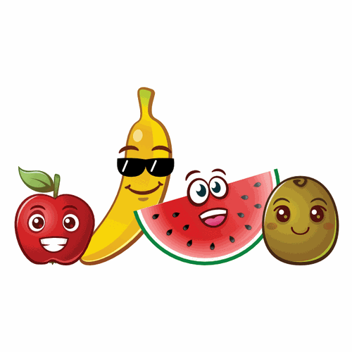 Fruit emoji characters
