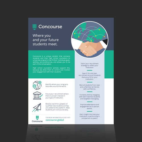 Advert for Concourse Global