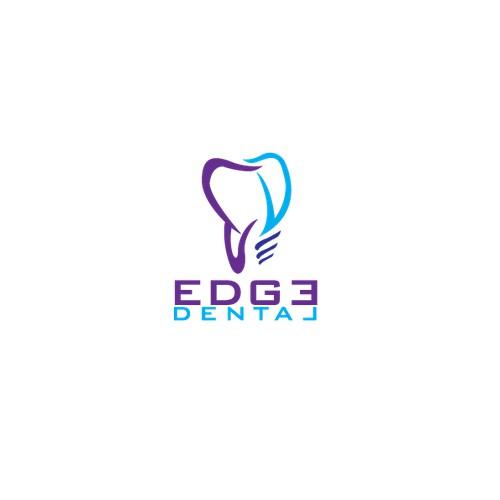 Create a bold logo for an ultramodern dental office! Edge Dental