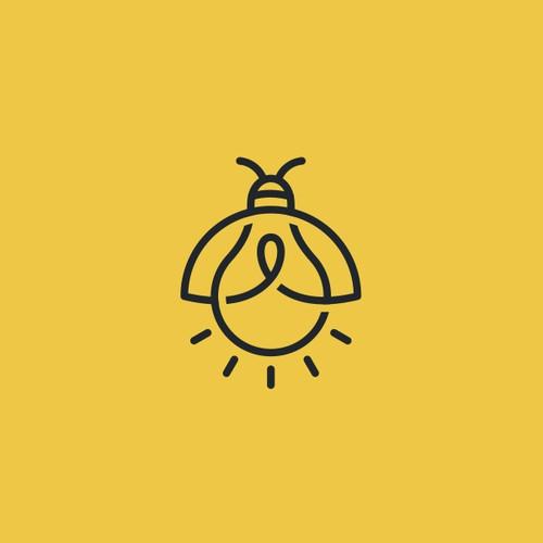 bug bulb logo