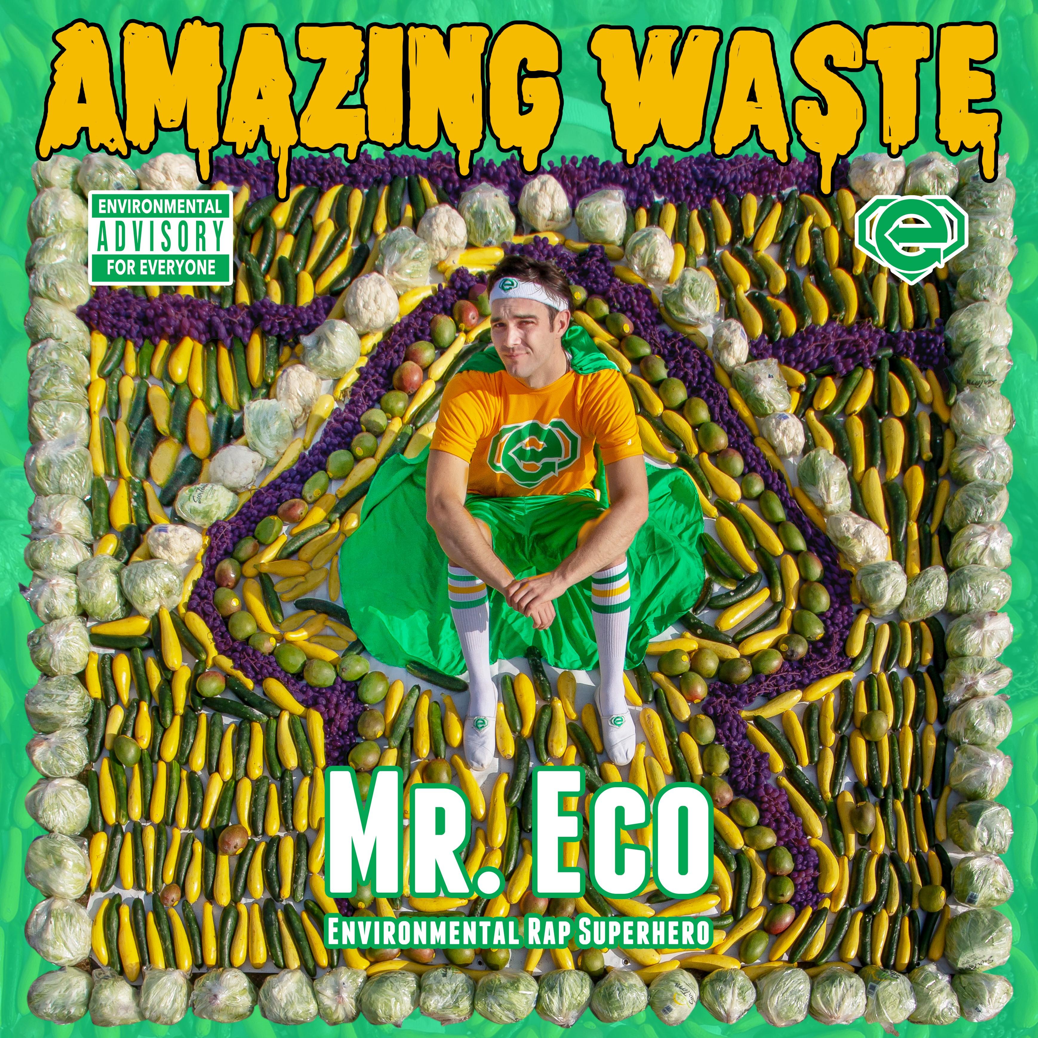 Eco Rap Superhero Food Waste Album