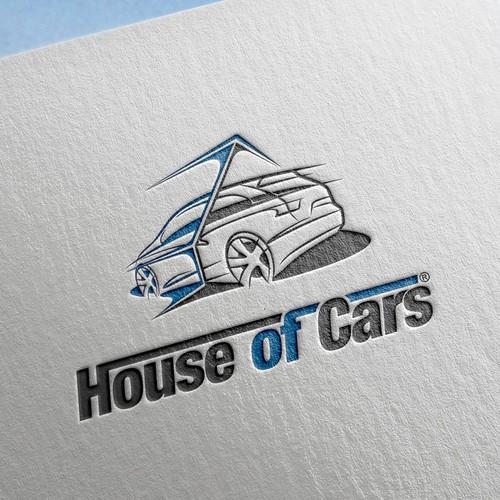 House of cars logo design