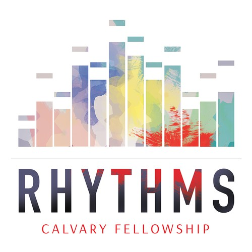 "The design for the sermon theme ""Rhythms"""