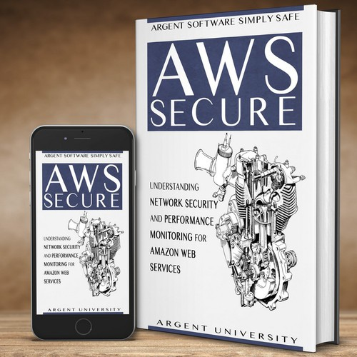 Cover Design for a Software book by Argent University