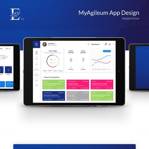 MyAgilieum App Design