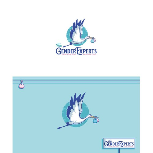 Logo & brand identity for Ultrasound Gender Prediction Services