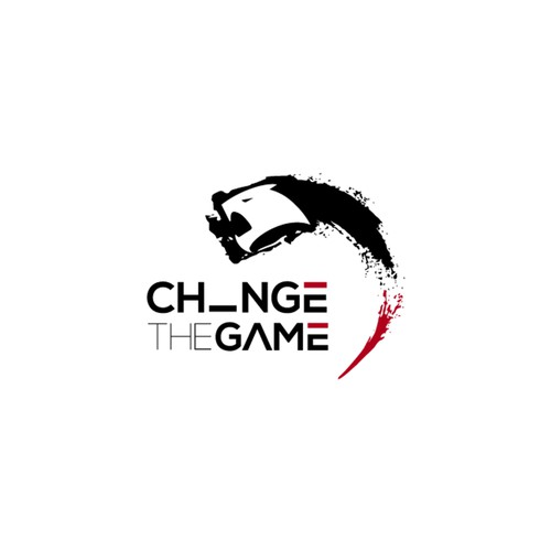 Fierce logo design for CHNGE THE GAME apparel