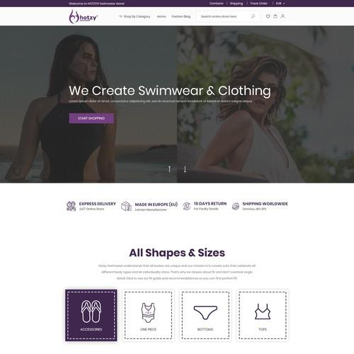 Restyle Swimwear website