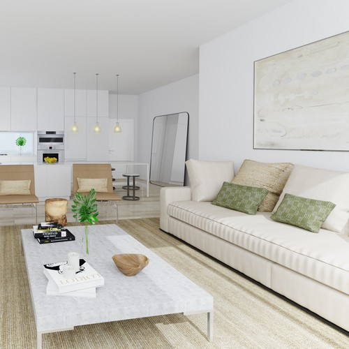Interior apartment visualisation