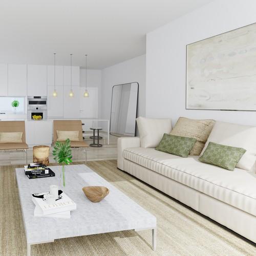 Interior apartment visualisation