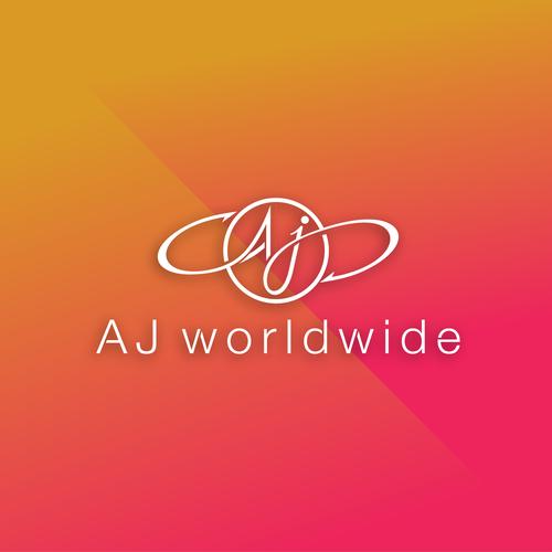 AJ logo design concept