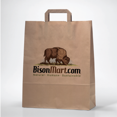 Create a visual identity for BisonMart.com