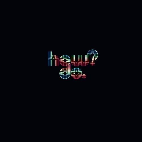 How?Do. Logo design
