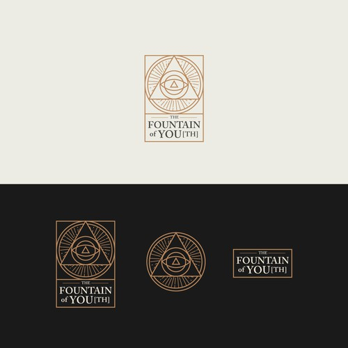 The Fountain of YOU | PERSONAL BRAND BOARD + LOGO
