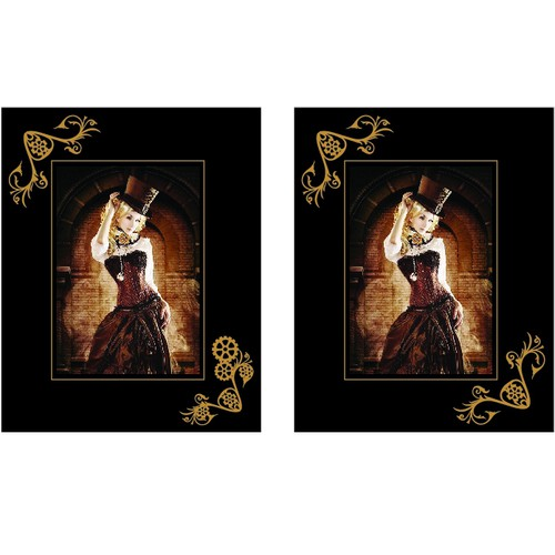 Steampunk Picture Frames